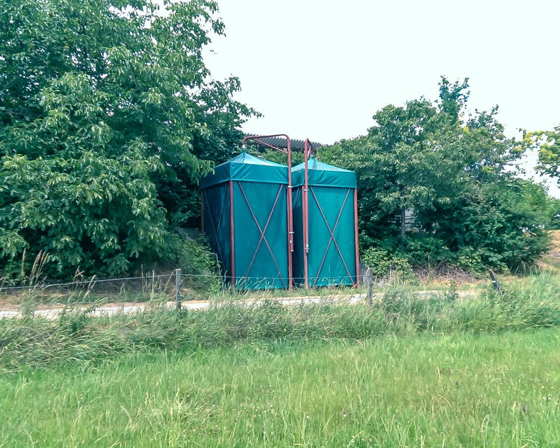 Außensilo / outdoor silo (KA-silo)