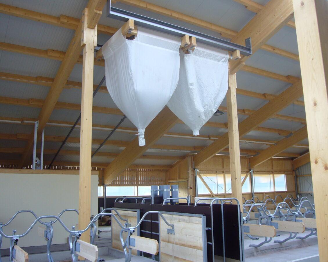 Holzrahmesilo / wooden frame silo (HR-Silo)