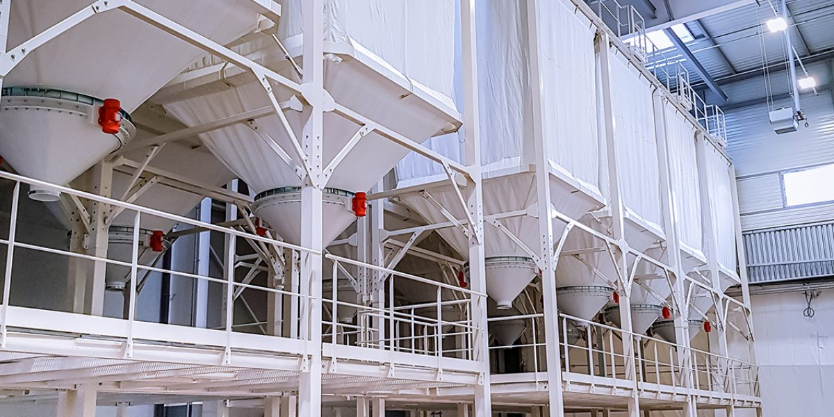 Mehlsilo / silo for flour
